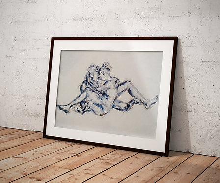 Entwined Lovers: Limited Edition Print