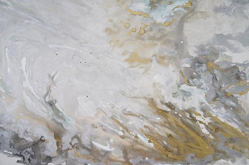 Metal Cloud: Original Painting