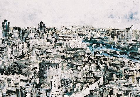 Millennium London: Original Painting