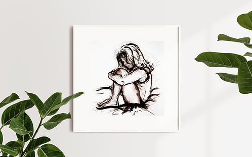 Shy: New Limited Edition Print