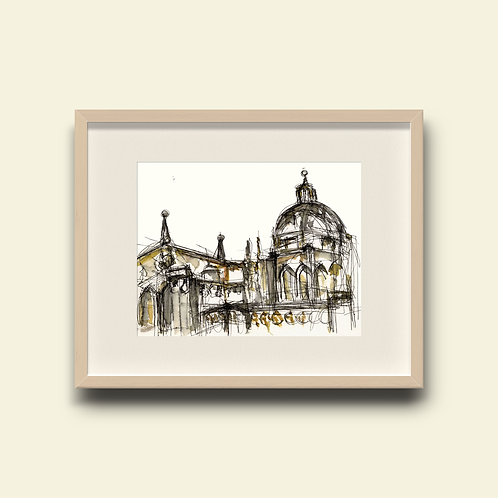 Toledo Cathedral Facade: New Limited Edition Print