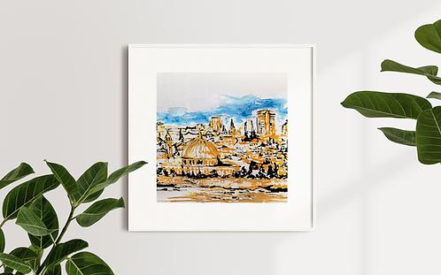 Jerusalem: Limited Edition Print