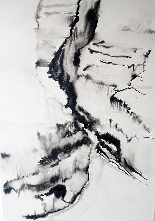 Sunrise Petra: Original Painting
