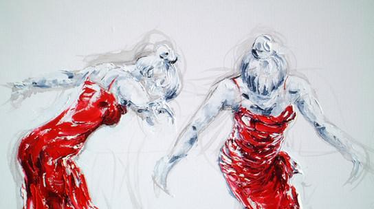 Lady Greek Dancing II (Detail)