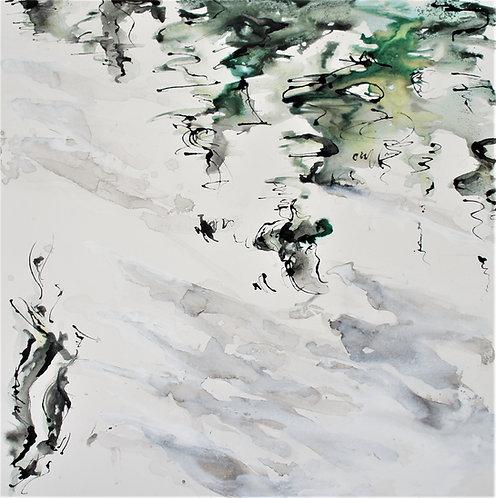 Gentle Willow: Original Painting