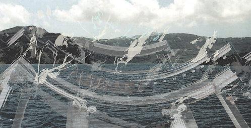 Volcanic Sculpture: Original Digital Montage