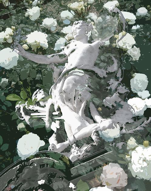 Parisian Rose: Original Digital Montage