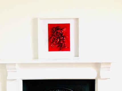 Roses Are Red Framed