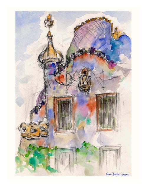 Casa Batilla I: Notebook Study