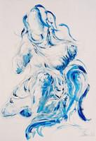Untitled (Blue Lady)