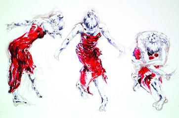 Lady Greek Dancing