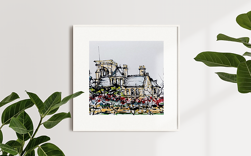 House In The Woods: Limited Edition Print