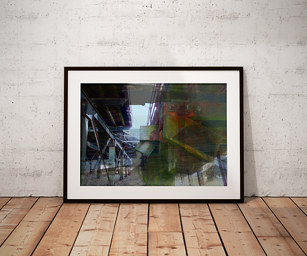 The Beach Structure: New Limited Edition Print