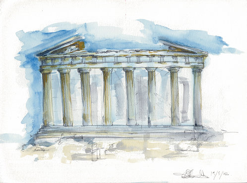Parthenon: Notebook Study