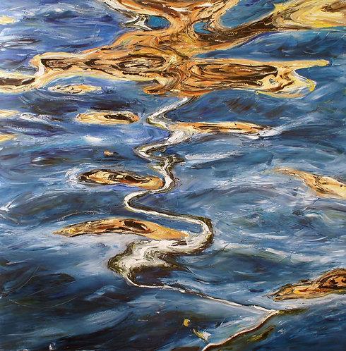 Reflection: Original Painting