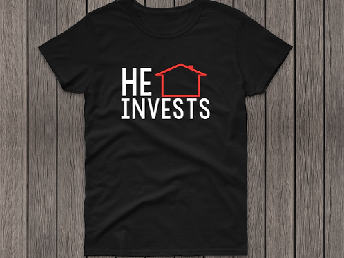 """He Invests"""