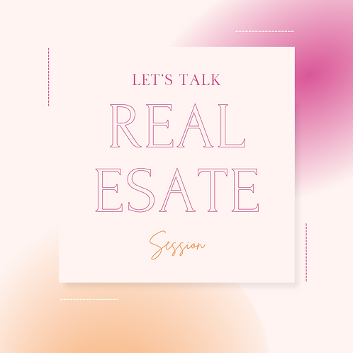 Real Estate Strategy Session