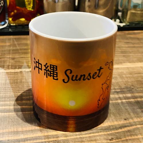 都屋サンセットマグカップ 日本語