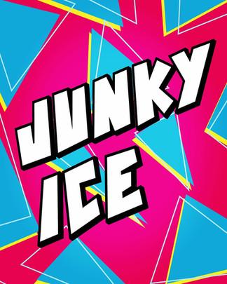 ジャンキーアイスポスターデザイン