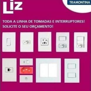 Tomadas e Interruptores Tramontina Liz