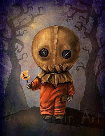 "Sam 11"" x 14"" Trick r Treat Art Print"