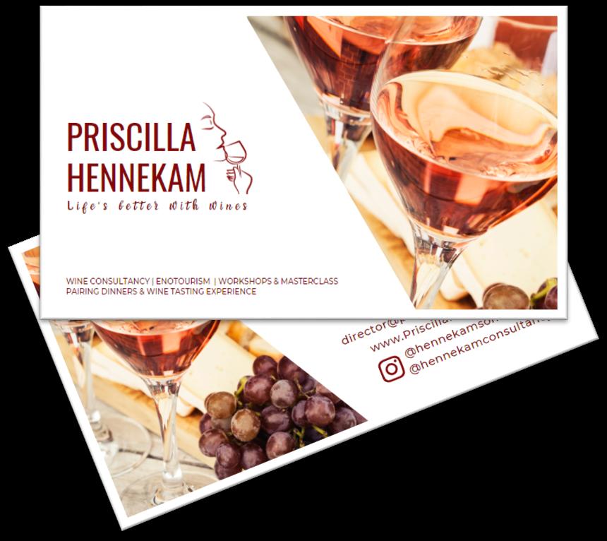 Priscilla Business Card