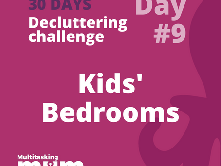 How to organise the kids' bedroom with their involvement?