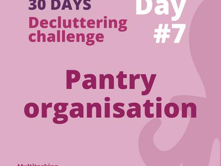 Pantry Organisation
