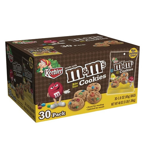 Keebler M&M Bite Size Cookies