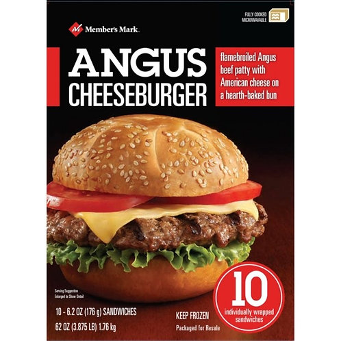 Frozen Angus Cheeseburger