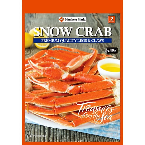 Frozen Snow Crab Legs