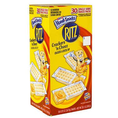 Handi-Snack Ritz Crackers
