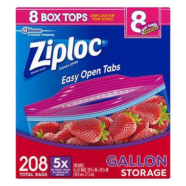 Ziploc Easy Open Tops