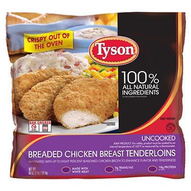 Tyson Breaded Chicken Breast Tenderloins