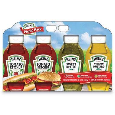 Heinz Ketchup Mustard Relish