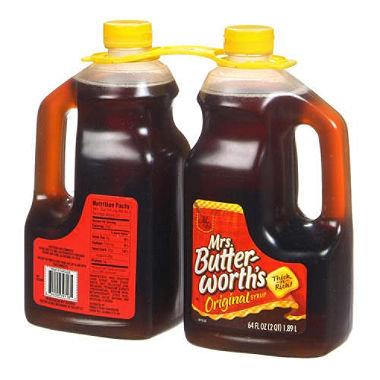 Mrs. Butter-Worths Original Syrup