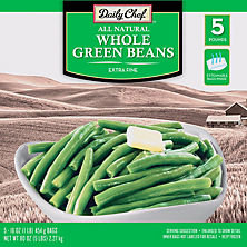 Daily Chef Whole Green Beans Extra Fine