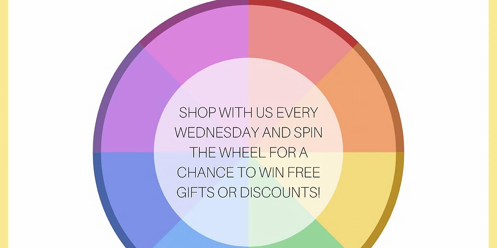 Spin The Wheel Wednesday!