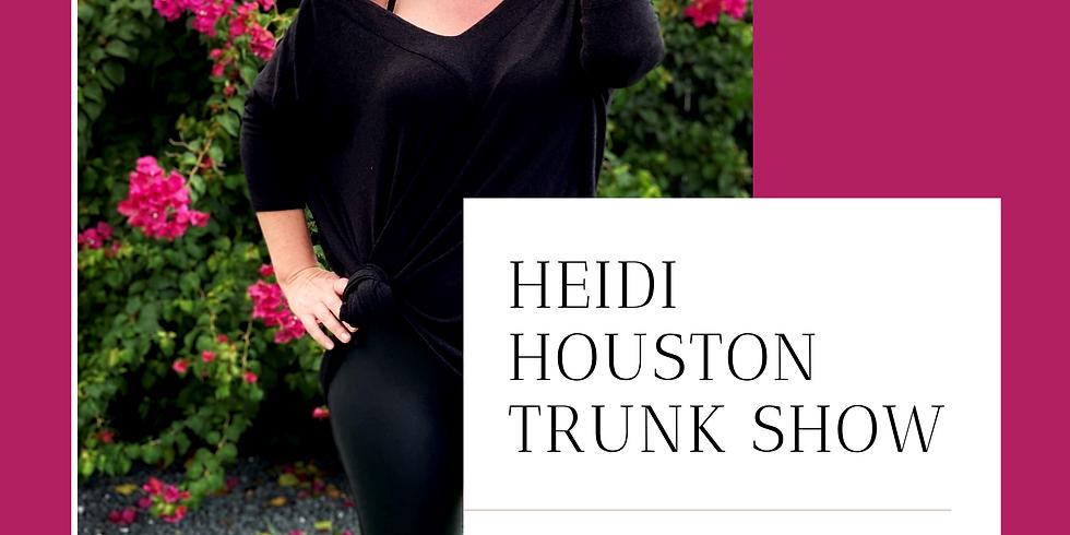 Heidi Houston Trunk Show