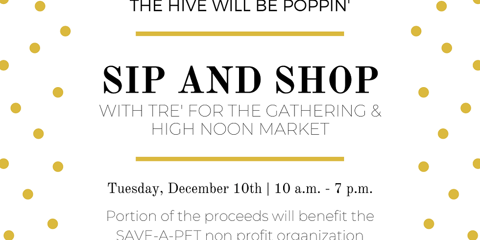Tre' and High Noon Market at The Hive!