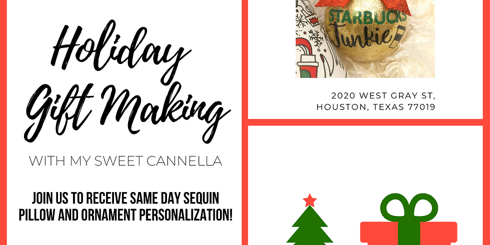 Holiday Gift Making with My Sweet Cannella