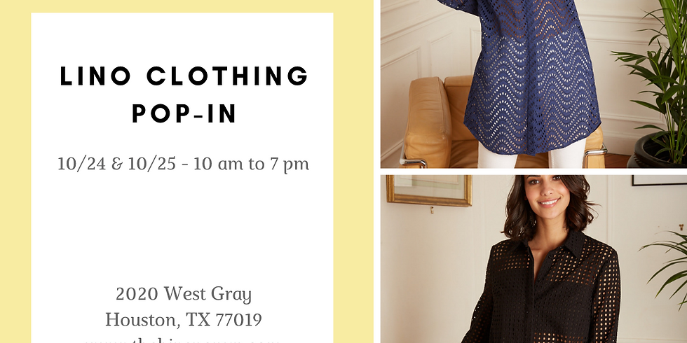Lino Clothing Pop-In