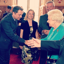 Meeting Her Majesty the Queen at the Queen's 90th Birthday Celebration Concert Windsor