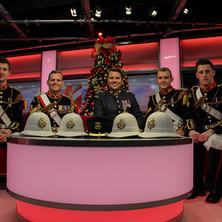 At BBC Breakfast for 1914 the Carol of Christmas