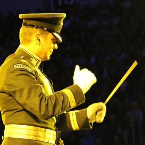Conducting Disney's Brave at the Royal Edinburgh Military Tattoo