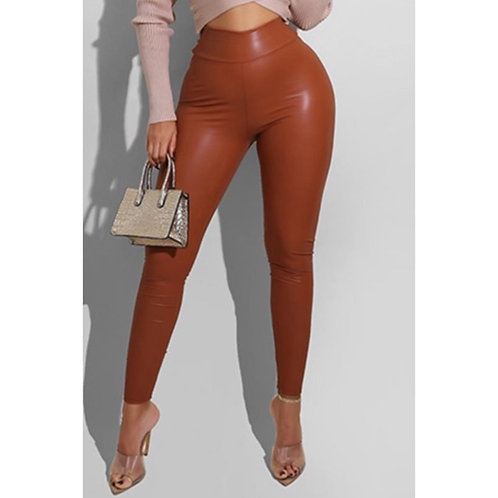 COCO FAUX LEATHER PANT
