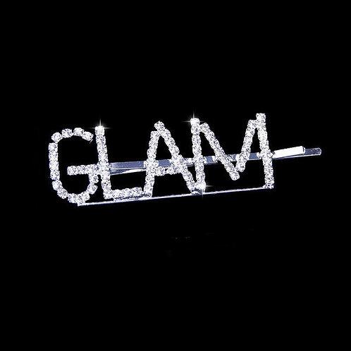 """""""GLAM"""" Bling Hair Clip"""