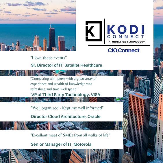 (CIO) IT Leadership: Chicago | Speed Networking Evening