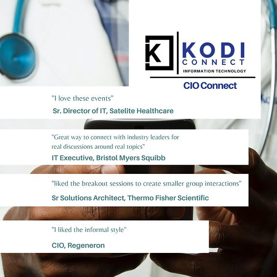(CIO) IT Leadership in Healthcare | Virtual Roundtable