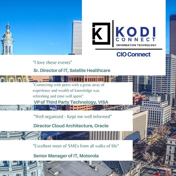 (CIO) IT Leadership: Denver   Speed Networking Evening